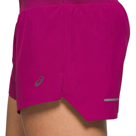 "asics Road 3,5"" Shorts Dames, dried berry"